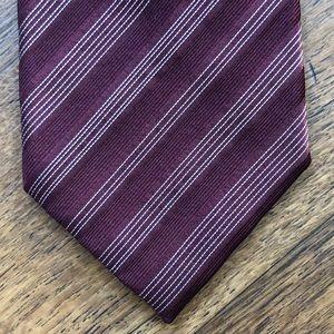 Giorgio Armani Accessories - Giorgio Armani Striped Silk Tie NWT